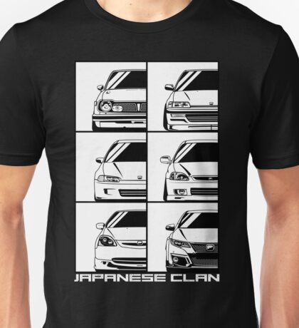Honda Civic. Generations Unisex T-Shirt