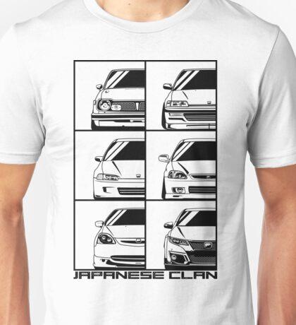 Honda Civic. Generations Unisex T-Shirt