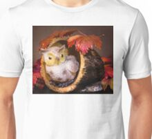 Autumnal Owl still life  Unisex T-Shirt
