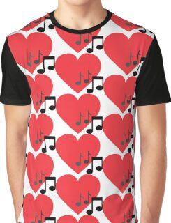 Love Music note Graphic T-Shirt