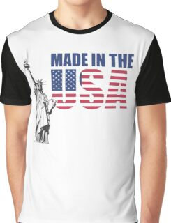 Made in the USA. (United States of America) Graphic T-Shirt