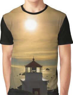 Trinidad Head Memorial Lighthouse, Humboldt County, California Graphic T-Shirt