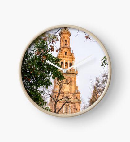 Plaza de Espana Tower  Clock