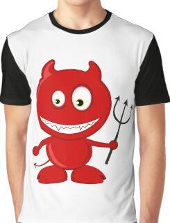 Cute Devil Graphic T-Shirt