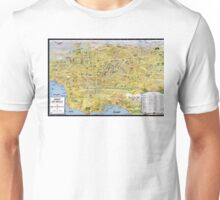 Map of Los Angeles - California - 1932 Unisex T-Shirt