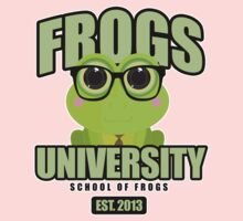 Frogs University Kids Clothes