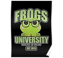 Frogs University 2 Poster