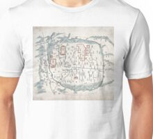 Map of Seoul - 1800 Unisex T-Shirt