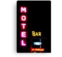 Motel  - Bar -  HBO - No Vacancy Canvas Print