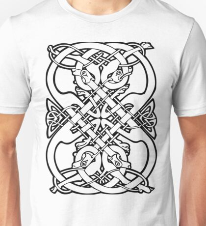 Celtic dogs 1 Unisex T-Shirt