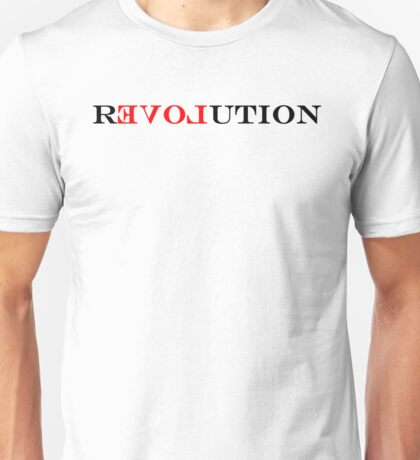 ReLOVEution Unisex T-Shirt