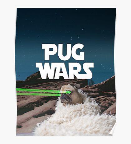 Pug Wars Poster