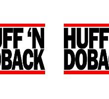 Huff 'N Doback (black) by inesbot