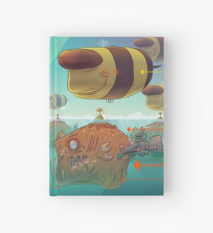 Bee Hardcover Journal