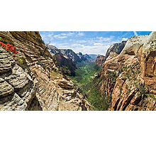Refrigerator Canyon Photographic Print
