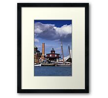 Seven Foot Knoll Lighthouse, Baltimore, Maryland Framed Print
