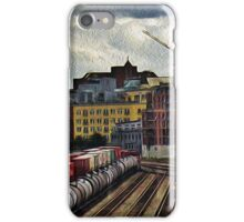 Vancouver Rail Yard iPhone Case/Skin