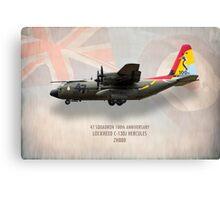 C-130J Hercules 47 Squadron ZH880 Canvas Print