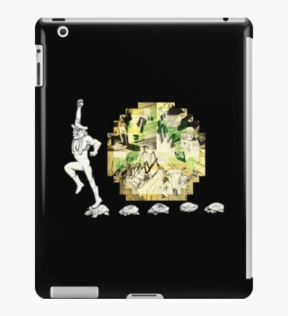 super vintage retro gamer iPad Case/Skin
