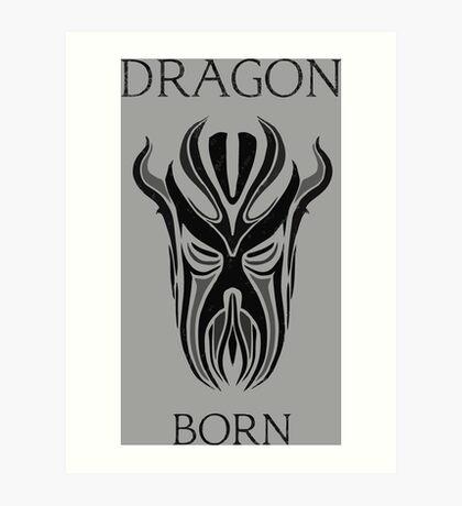 DRAGONBORN Art Print