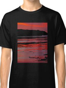Bathed in sunset red Classic T-Shirt