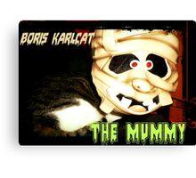 Boris Karlcat in the Halloween classic 'The Mummy' Canvas Print