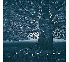 Greenman - acrylic painting Photographic Print