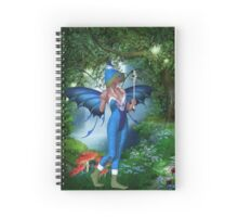 Fine Bubbles Spiral Notebook