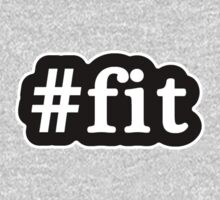 Fit - Hashtag - Black & White Kids Clothes