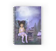 At the Fairy Library Spiral Notebook