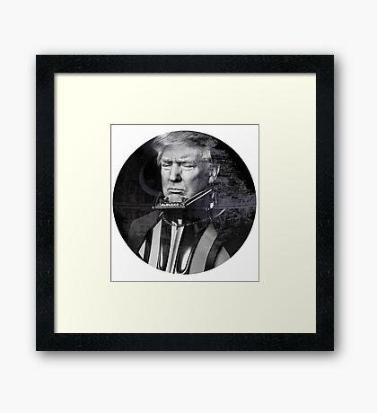 Darth Donald Trump | Dark Lord of the Galactic Empire of America Framed Print