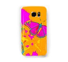 Psychedelic Butterflies  Samsung Galaxy Case/Skin