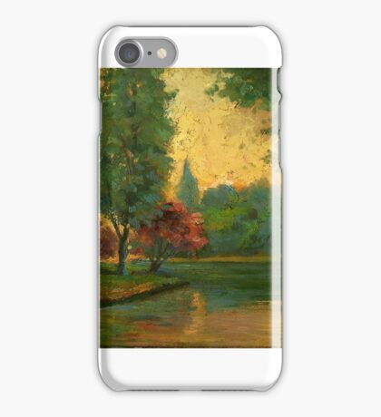 Arthur Timotheo da Costa (, European landscape at sunset iPhone Case/Skin