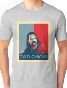 Men's Office Space Neighbor Lawrence - Two Chicks Same Time  Unisex T-Shirt
