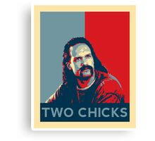Men's Office Space Neighbor Lawrence - Two Chicks Same Time  Canvas Print