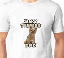 Silky Terrier Dad Father Unisex T-Shirt