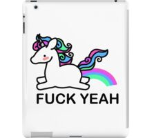 Pastel coloured unicorn iPad Case/Skin