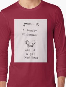 A Femury Christmas And Hippy New Year Long Sleeve T-Shirt