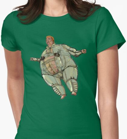 The Baron  DUNE Womens Fitted T-Shirt