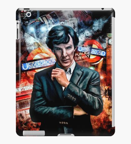 The Game Is On! iPad Case/Skin