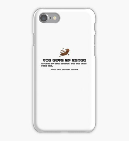 The Cove of Coves, RPG Travel Guide #1 iPhone Case/Skin