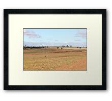 Lake Keepit Framed Print