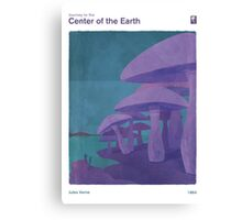 Journey to the Center of the Earth - Jules Verne Canvas Print