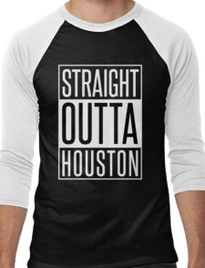STRAIGHT OUTTA HOUSTON Men's Baseball ¾ T-Shirt