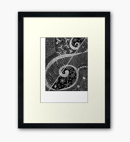 Treble Framed Print