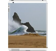 Sea, Rock,Sand.Philosophical erosion.. iPad Case/Skin