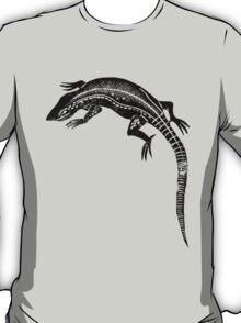Common Lizard Lino Print T-Shirt