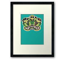 The Battletoad Boys Framed Print