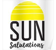 Sun Salutations Poster