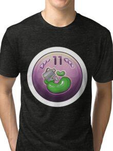 Glitch Achievement rainmaking noob Tri-blend T-Shirt